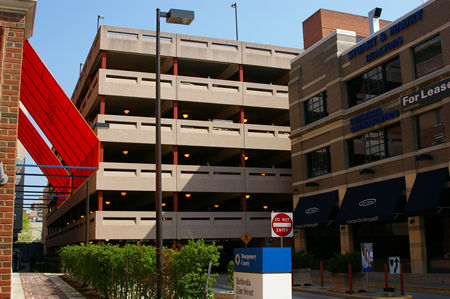 Bethesda Avenue Elm Street Parking Garage